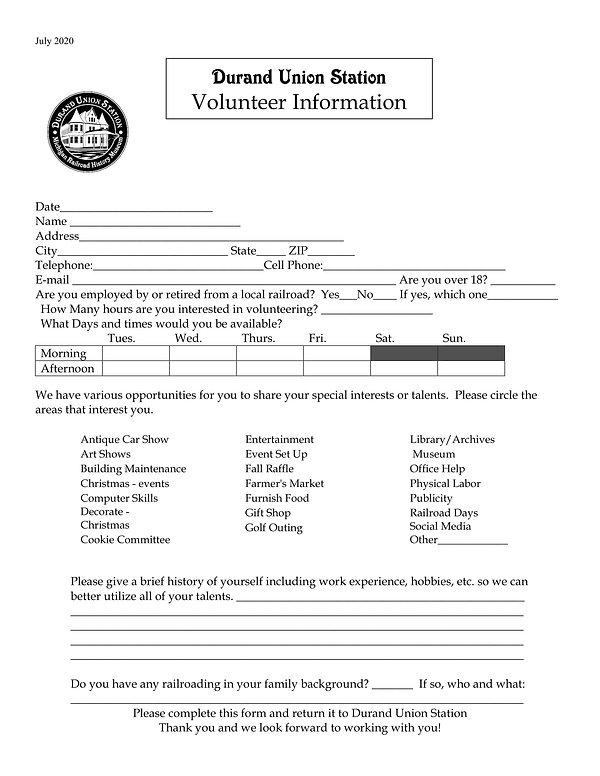 Volunteer Information form 2020 for FB.j