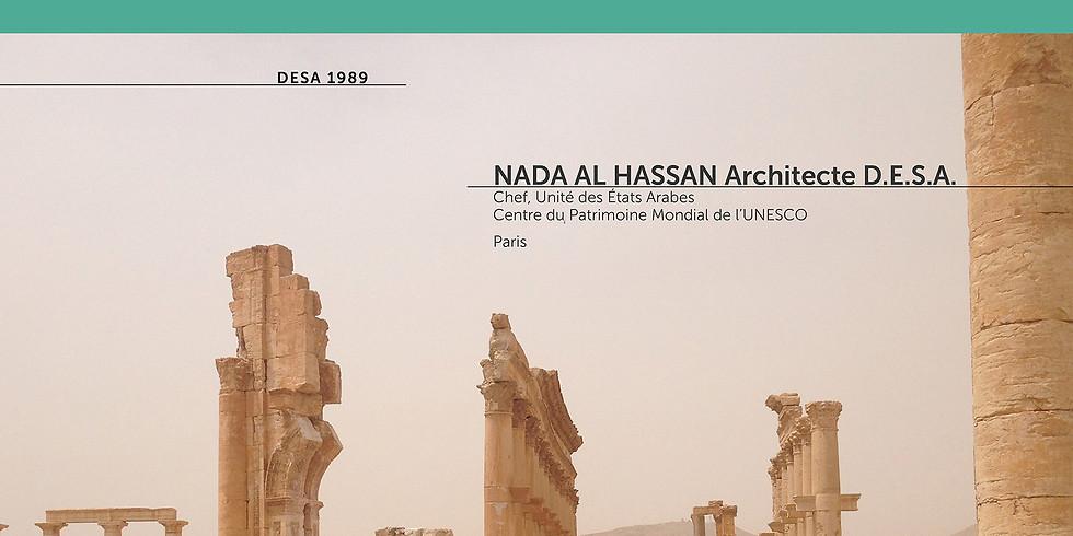 Conf//DESA, et après ? #4 Nada Al Hassan Unesco