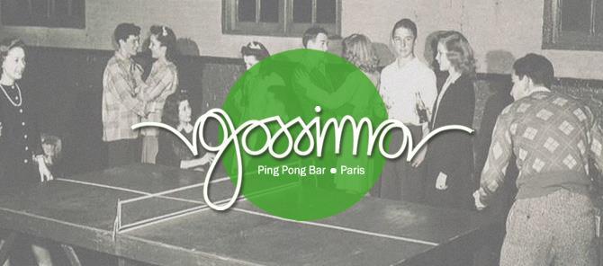 AFTERWORK #4 // 26 octobre 2017          Ping-Pong Bar