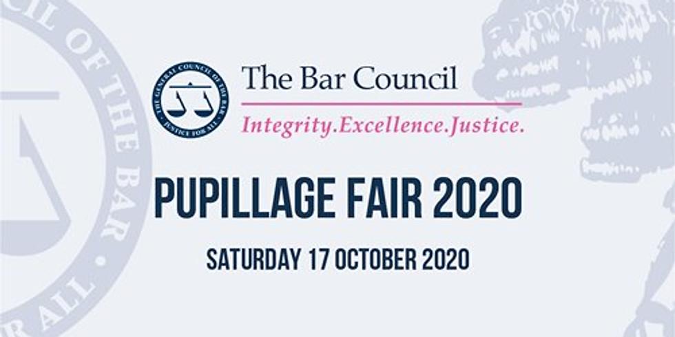 Bar Council Pupillage Fair 2020
