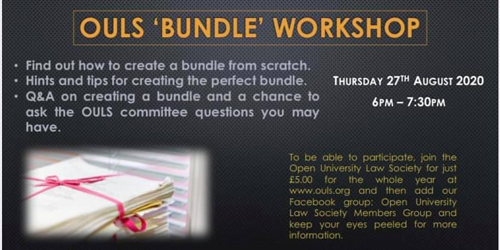 OULS Bundle Workshop
