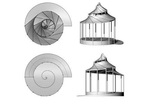 Proposal for an open stage music pavilion, Indian Rocks Beach, Florida, 2018