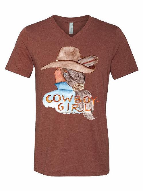 Cowboy-Girl Tee