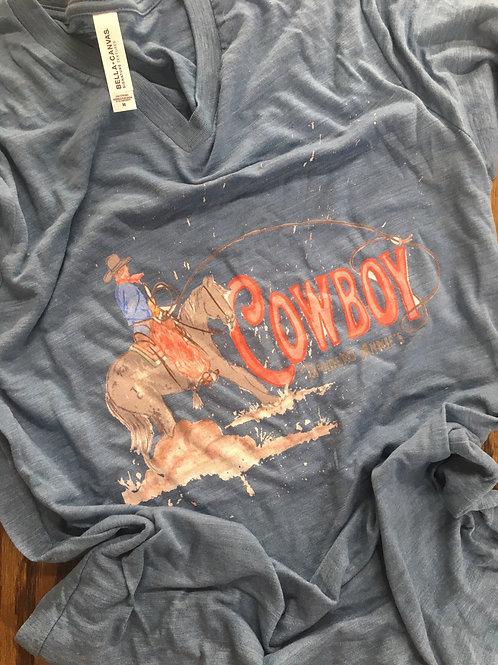 Cowboy Tee