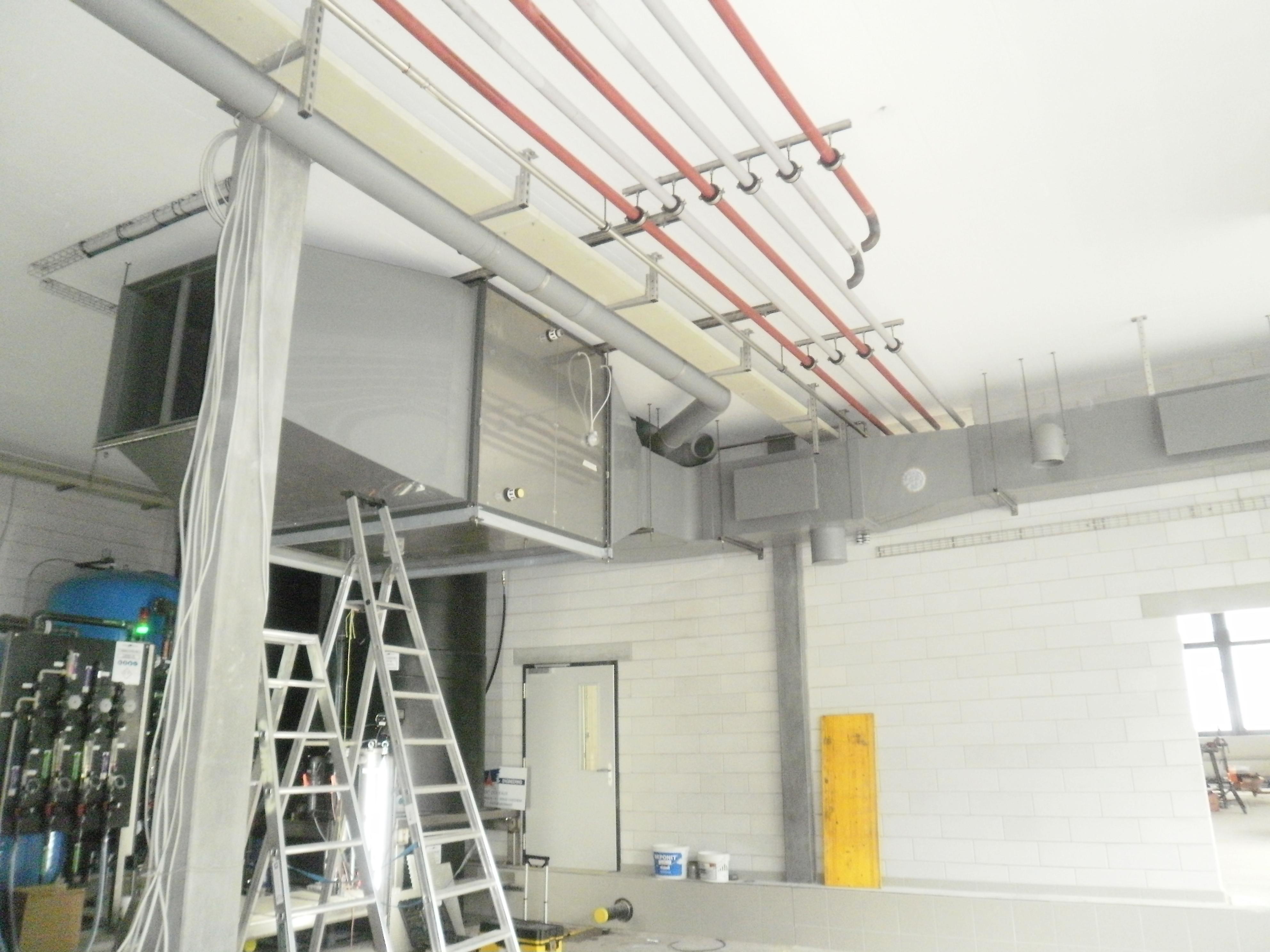 Réseau ventilation PPs