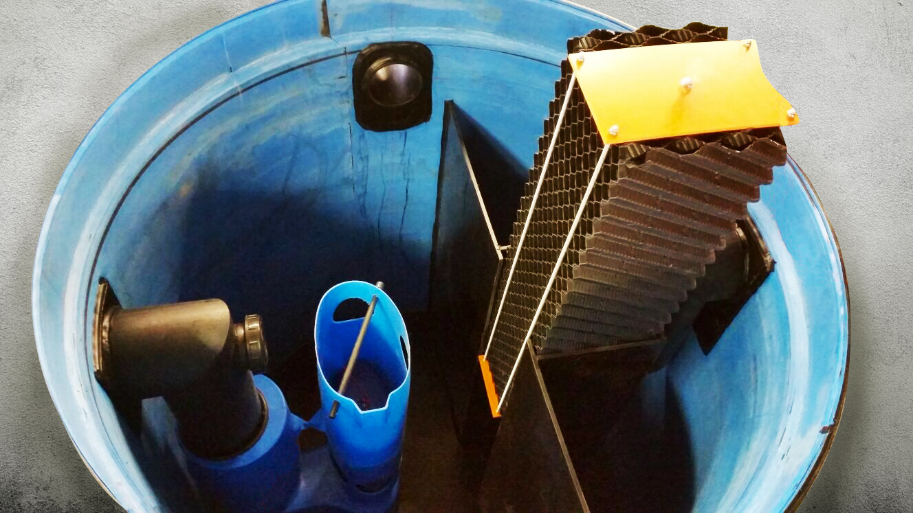 éparateur d'hydrocarbures PE-HD