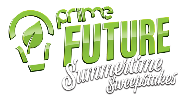 PRIME Future Summertime Sweepstakes logo