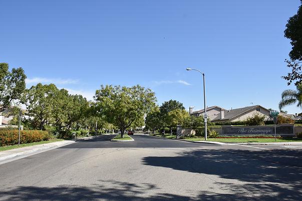 Neighborhood street in Pico Rivera