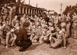 Scouts Learn Fire Safety