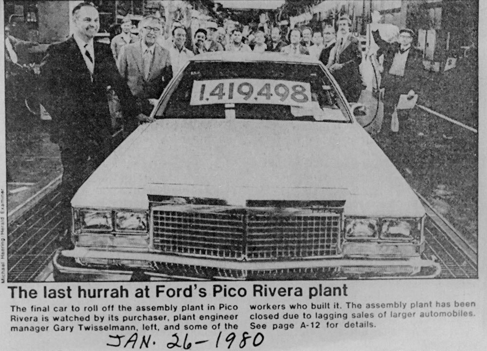 Last Day of the Ford Plant