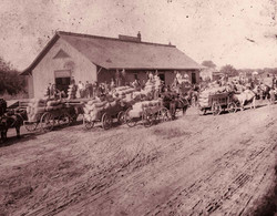Rivera Freight House, 1880s