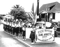 Pico Rivera Girl Kadets c.1950's