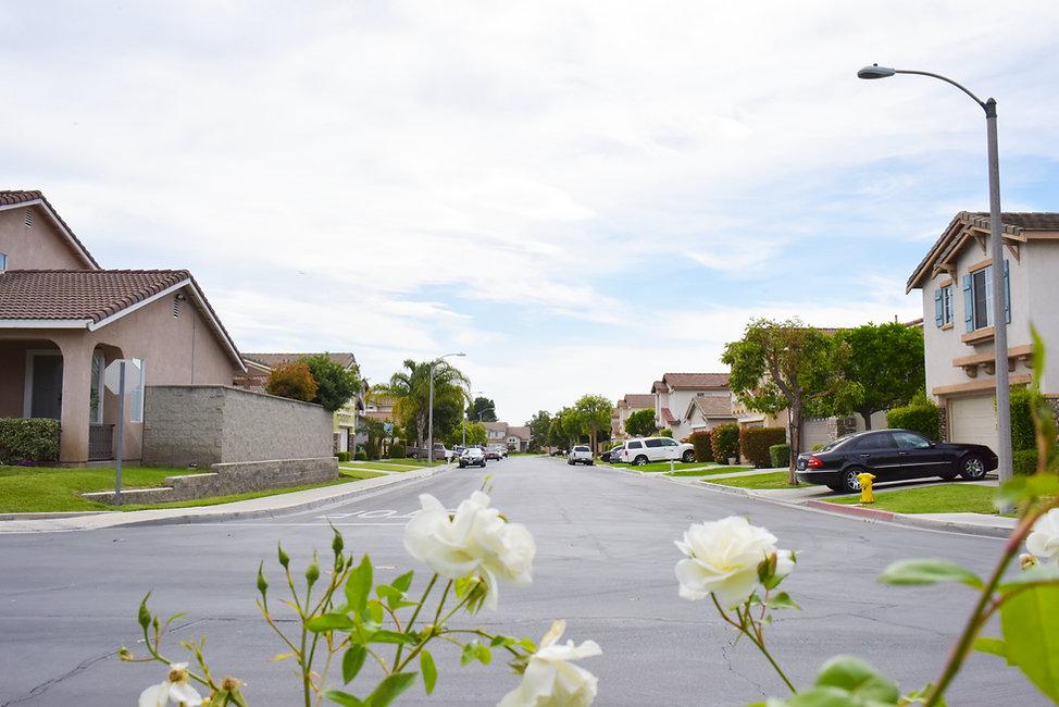 A Pico Rivera residential neighborhood.