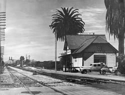 Santa Fe Depot c.1940's