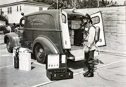 L.A. Fire Dept. c.1950's