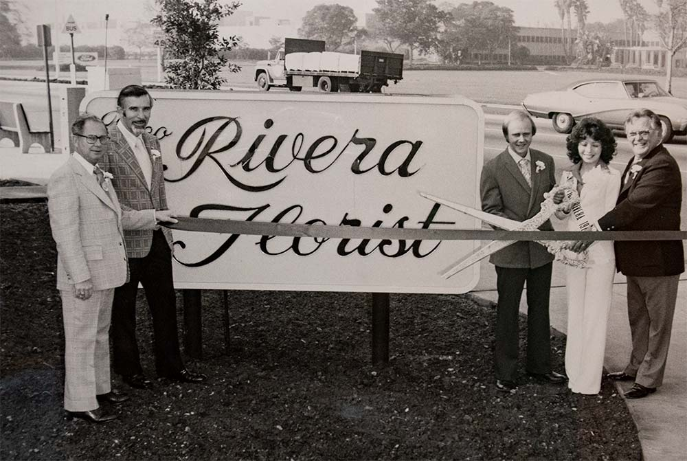 Grand Opening of Rivera Florist