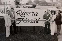 Grand Opening of Rivera Florist