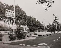 Bank of Pico Rivera Parking Lot