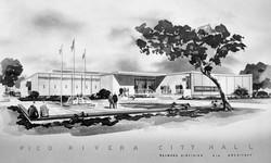 New City Hall Artist Rendering 1963