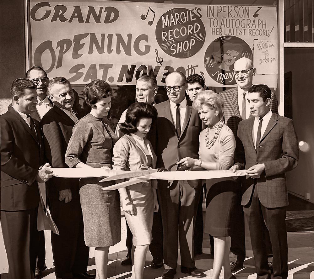 Margie's Record Shop Grand Opening