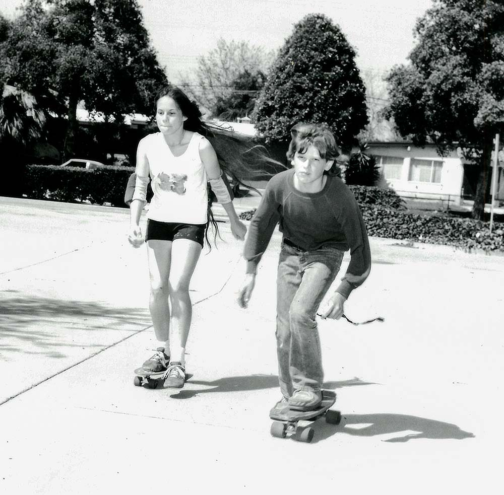 Skateboarding in the early 80's