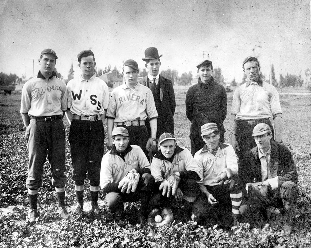 The Rivera Baseball Team of 1903