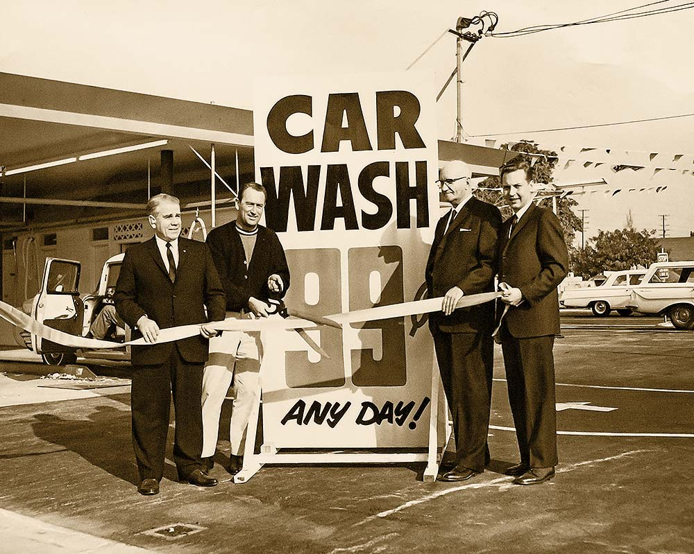 Car Wash Grand Opening