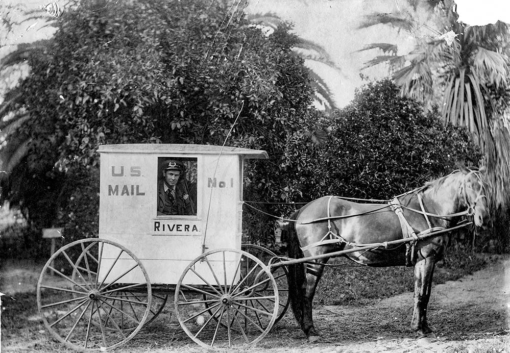 Rivera Mail, c. 1900