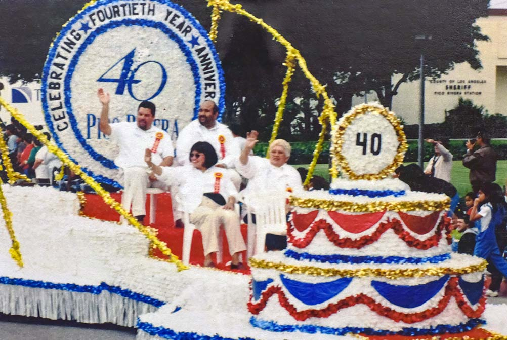 40th Anniversary Parade