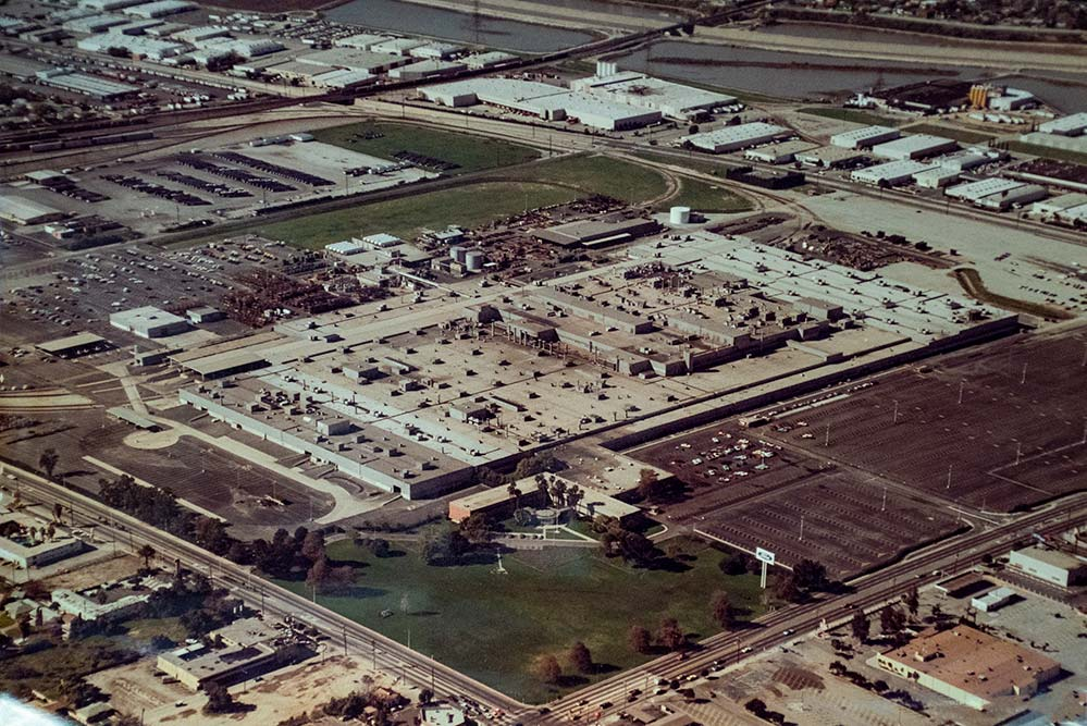 Aerial View of the Ford Motor Plant