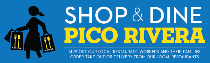 Shop and Dine Pico Rivera Logo 2020 (rec