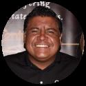 Pico Rivera resident wearing black shirt