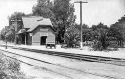 Santa Fe Depot, c.1900