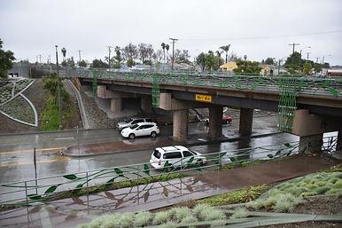 Underpass on Passons just north of Slauson Blvd.