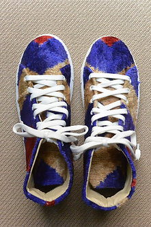 Velvet Ikat High-Tops
