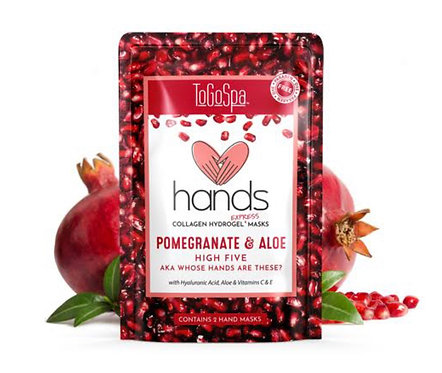Pomegranate and Aloe Hand Mask