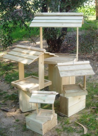 Wooden Feeders - 4 sizes