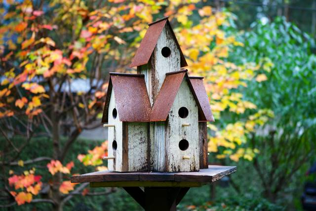 Large Rusty Condo birdhouse