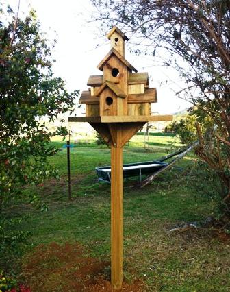Taj Mahal birdhouse