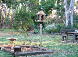 Monastery birdhouse