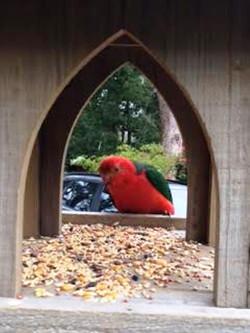 Hacienda birdhouse