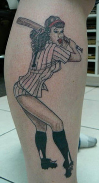 Betty Paige Tattoo