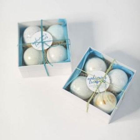 Mini Bath Bombs (4 pack)