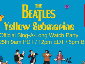 Sing-along edition of The Beatles' Yellow Submarine film to be screened on YouTube this Saturday