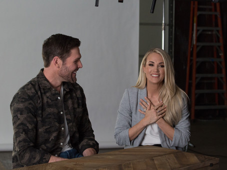 Mike Fisher, Carrie Underwood Offer Intimate Glimpse Into Love, Family and Faith