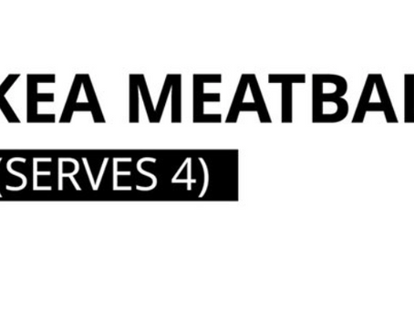 This is not a drill: IKEA has released the recipe for its Swedish meatballs