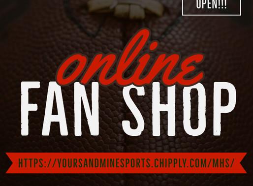 Fan Shop is Officially OPEN!!!