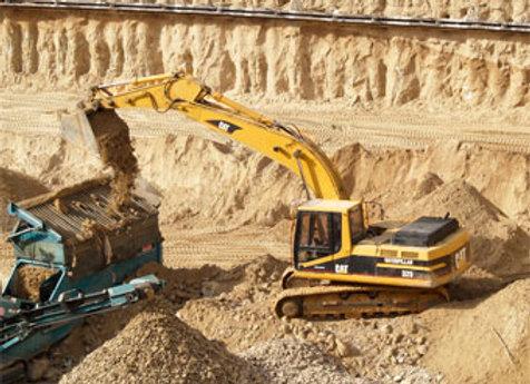 Песчаный карьер | добыча песка | финансовая модель бизнес плана