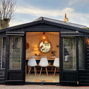 Our dining pod