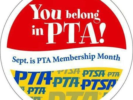 September - PTA Membership Month